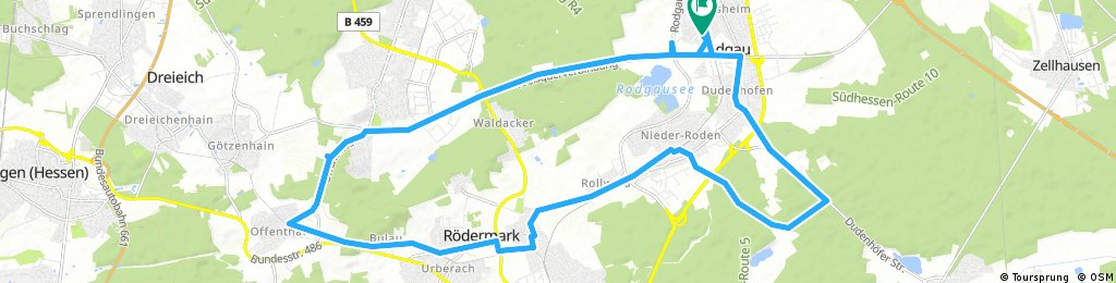 Rodgau-Offenthal-Rödermark-Rodgau