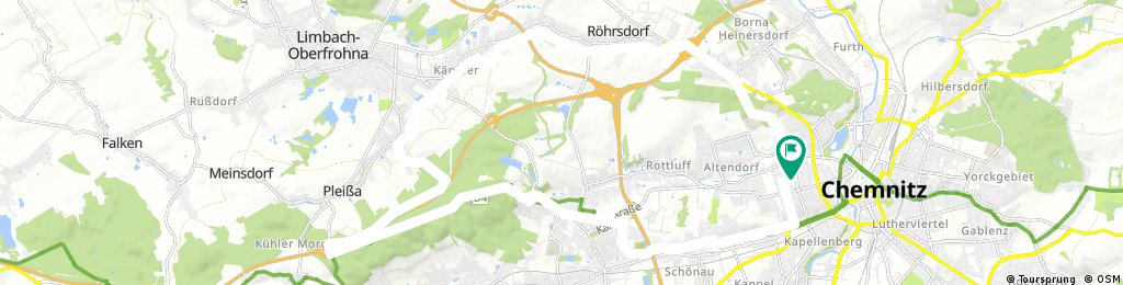 Chemnitz Totenstein Rundweg