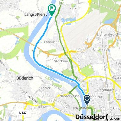 Tonhalle - Fähre Kaiserswerth