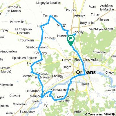 G 05 - Bords de Loire 95 kms