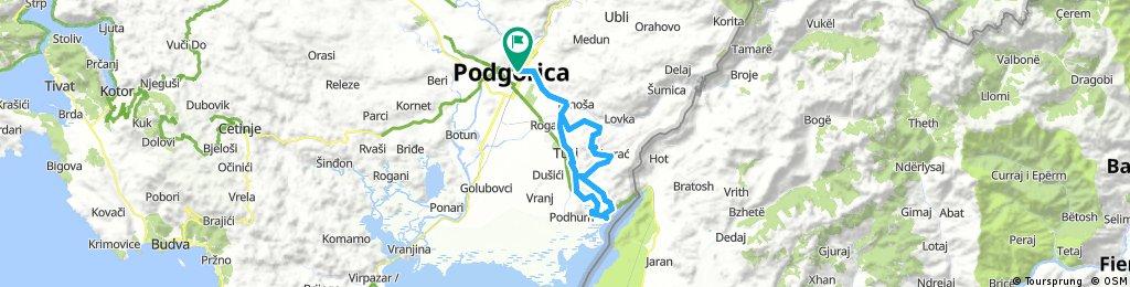 PG — Skorać — Skadsrdko jezero — PG