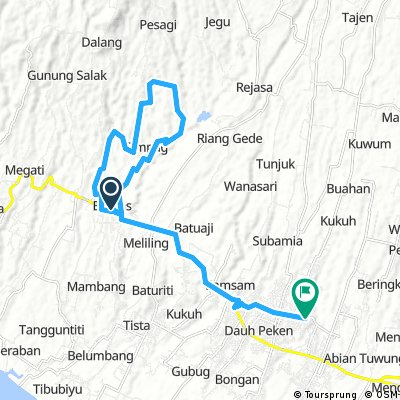 Cycling To Gadungan Hill
