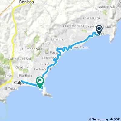 Xabia - Calpe (Contrarreloj Vuelta a España 2016)
