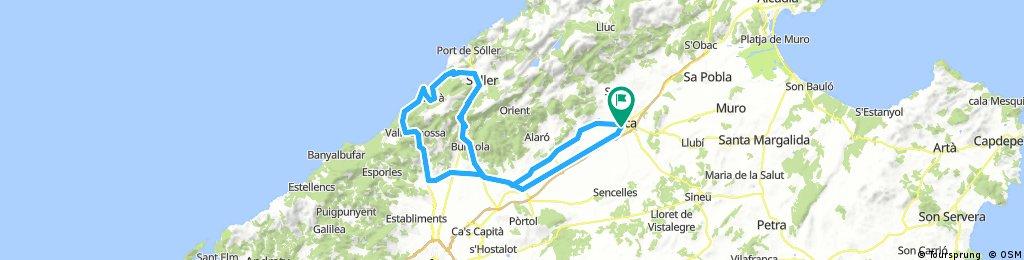 ST.MARIA-BUNYOLA-SOLLER-DEIA-SA PRADISSA-VALLDEMOSSA-INCA