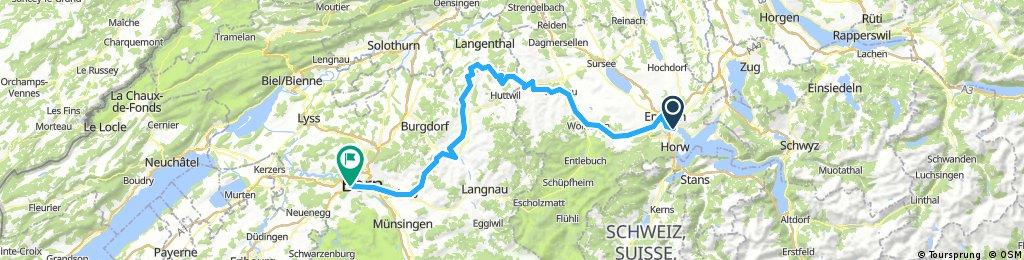 Luzern – Willisau – Ramsei – Bern