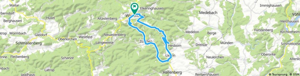 Hallenberg - Winterberg für Normalos