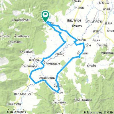 Touring - Chiang Mai - Lamphun loop