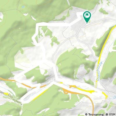 Manderbach - Sechshelden - Dillenburg