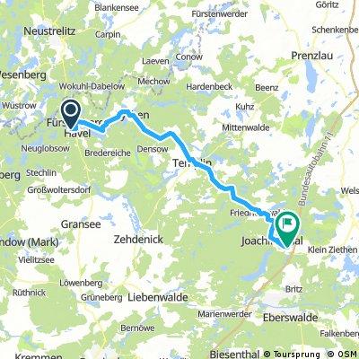 Mecklenburgischen Seenplatte - Tag5