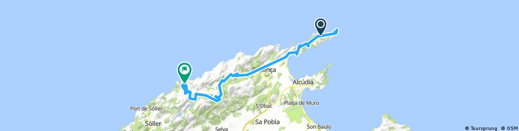 Mallorca 2018 4 Nap Bikemap Your Bike Routes