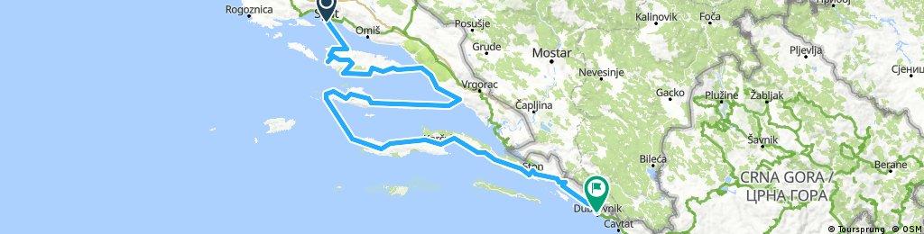 Split - Dubrovnik 2