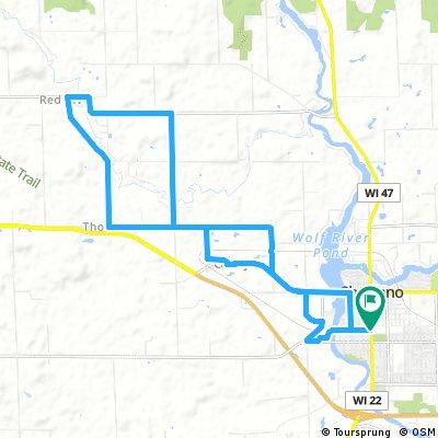 BTBQ 17 Mile Red River Route