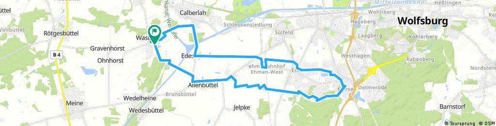 Radlertreff Route 10.04.2018