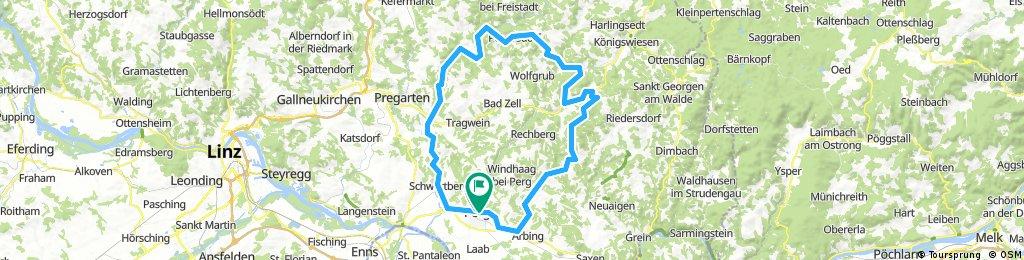 Mühlviertel Burgenrunde - 81km - 1220hm