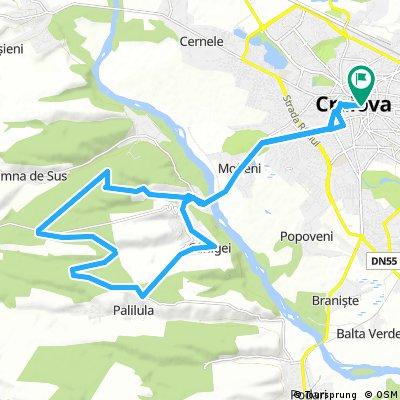 Craiova - Bucovat- Palilula - Carligei - Craiova