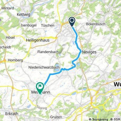 Velbert - Wülfrath - Mettmann