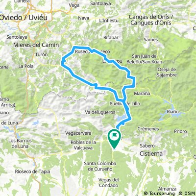 San Isidro - La Colladona - Tarna