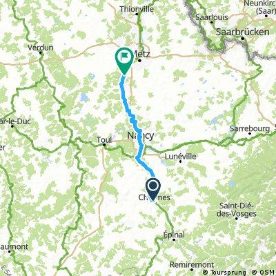 Charmes - Corny sur Moselle
