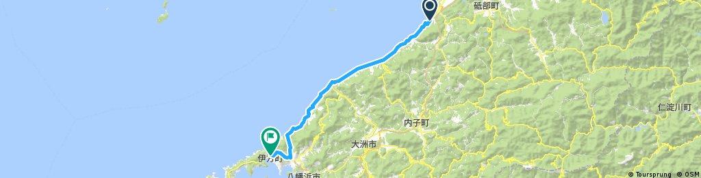 松山 to 三崎 part 2
