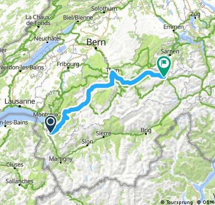 Stage 1, Aigle - Meiringen