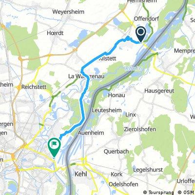 Gambsheim to Strasbourg