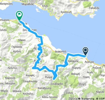 Route greece day 10