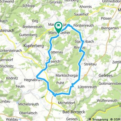 Rundtour Marienweiher-Weißenstein 4-18