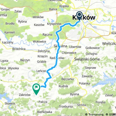 Trasa do Skawinek (Lanckorona)