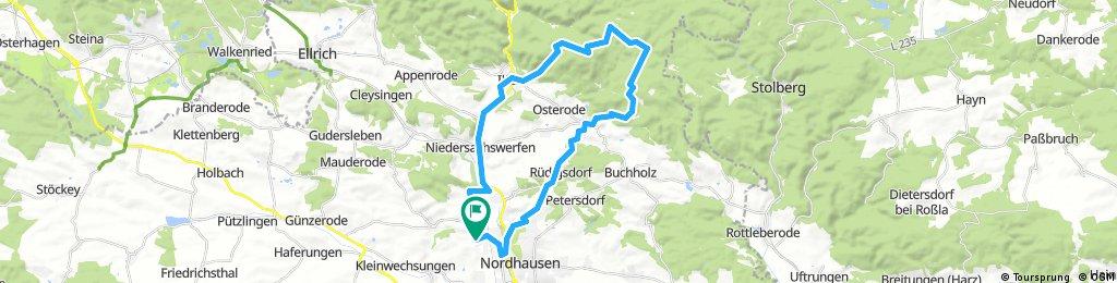 Neustädter Talsperre HWN 218 – Poppenberg Runde von Nordhausen-Altentor