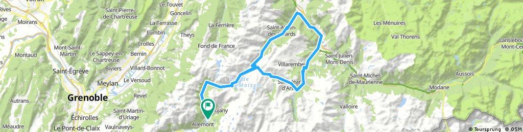 Col de la Croix und Glandon