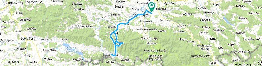 Nowy Sącz-Obidza-Szczawnica