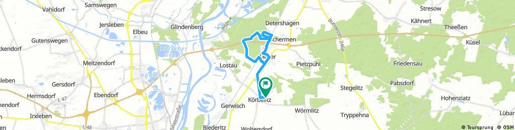 Bocksmühle - Forsthaus Külzau