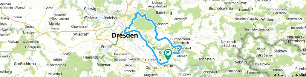 Pirna-Hofewiese-Pirna