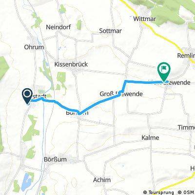 Probe Fahrt Berlin