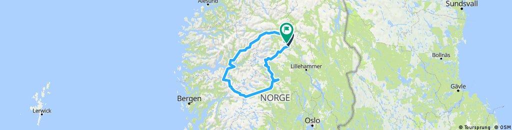 Norwegian Tour - Vinstra-Flam-Vinstra