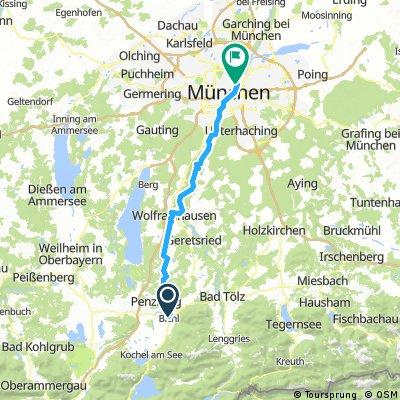 BICHL - MÜNCHEN (Loisach- und Isarradweg)