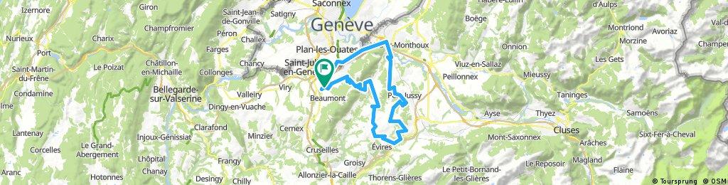 Plateau des Bornes 4 Col Loop + Salève