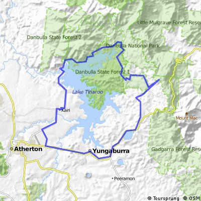 Day 2: Lake Tinaroo Circuit