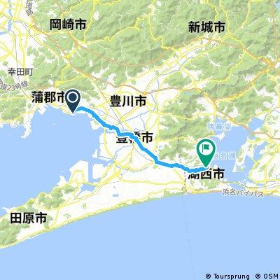 ラグーナ蒲郡~浜名湖