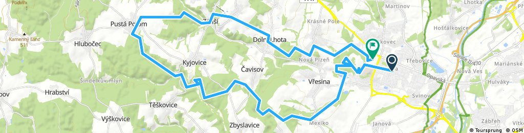 porubajk 38km