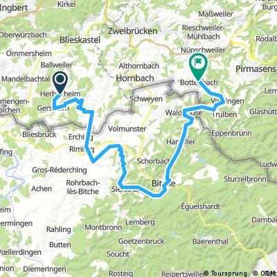 Herbitzheim - Bottenbach Tag 2