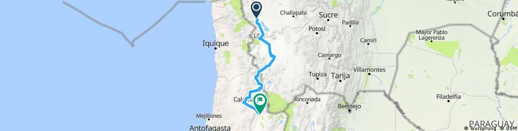 Part. 3 Sabaya - San Pedro de Atacama