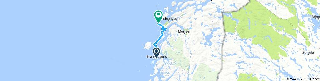 Brønnøysund - Herøy via Igerøy