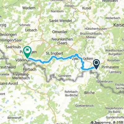 Bottenbach - Fenne Tag 3