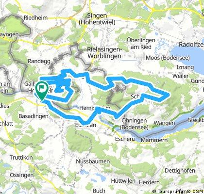 4 - Hügel - Tour