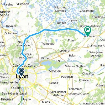 Lyon-Per 48 km