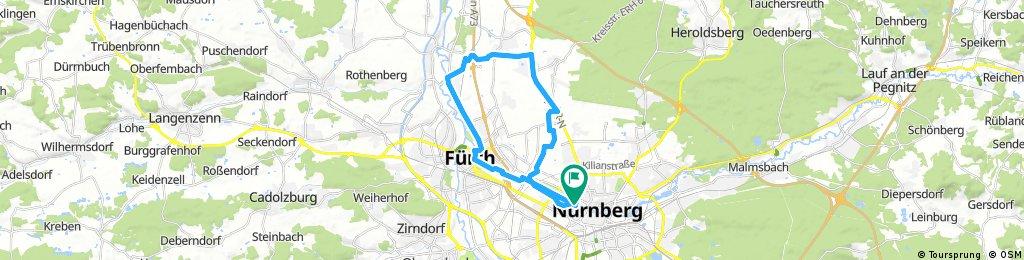 Pegn-Grund - B4 Rtg.ER - Fürth und zurück - easy!
