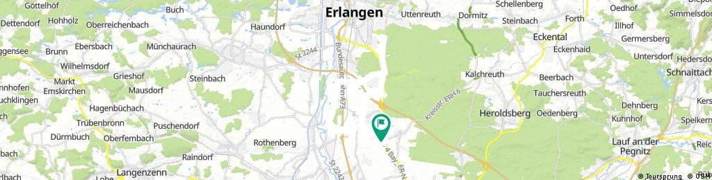 Boxdorf-Uni-Eltersdorf-Mannhof-Boxdorf