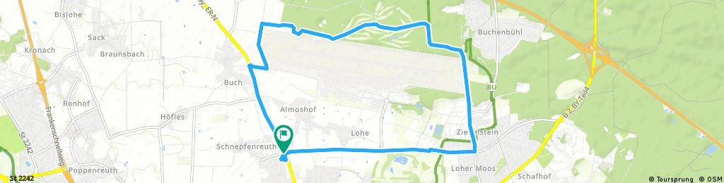 Rundfahrt um den Airport Nürnberg
