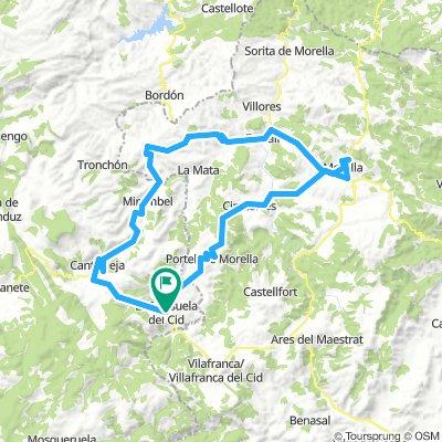Camino del CID - Anillo de Morella